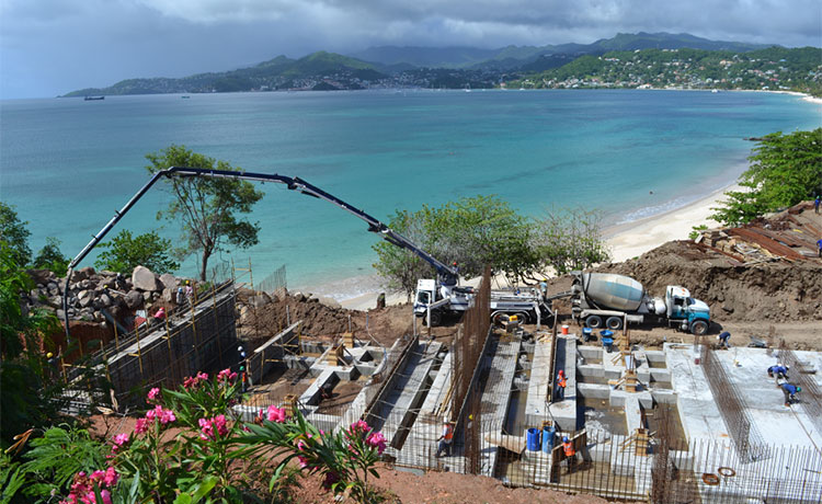 Kimpton Kawana Bay Construction update 1 - Grenada