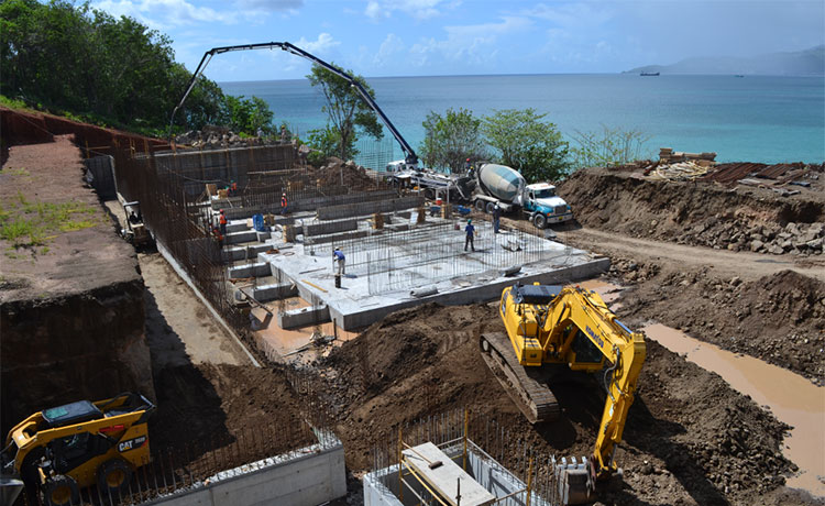 Kimpton Kawana Bay Construction update 2 - Grenada