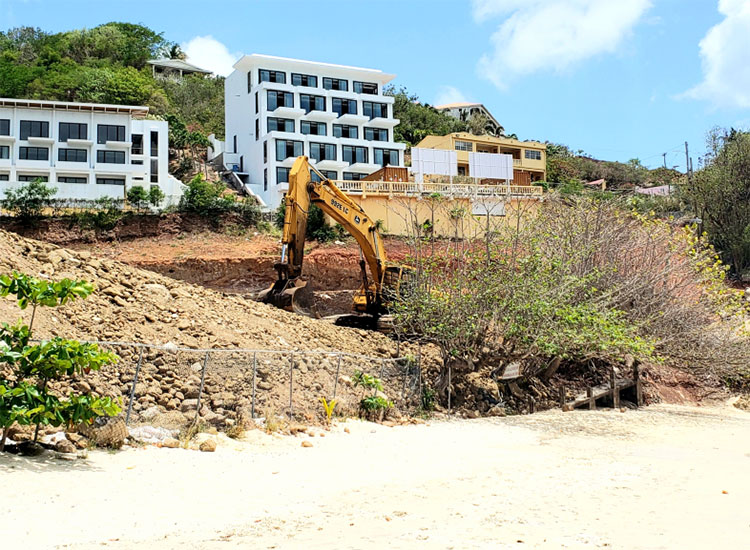 Kimpton Kawana Bay Construction update - Grenada