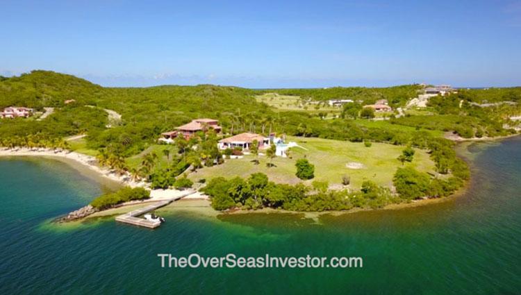 blue escapes Antigua and Babuda the overseas investor