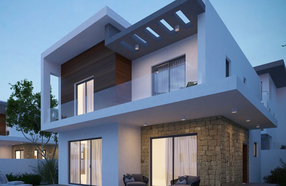 Cyprus villas for sale in Geroskipou - residency by investment