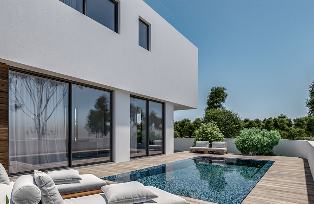 Luxury villas in Konia, Cyprus for sale in new development