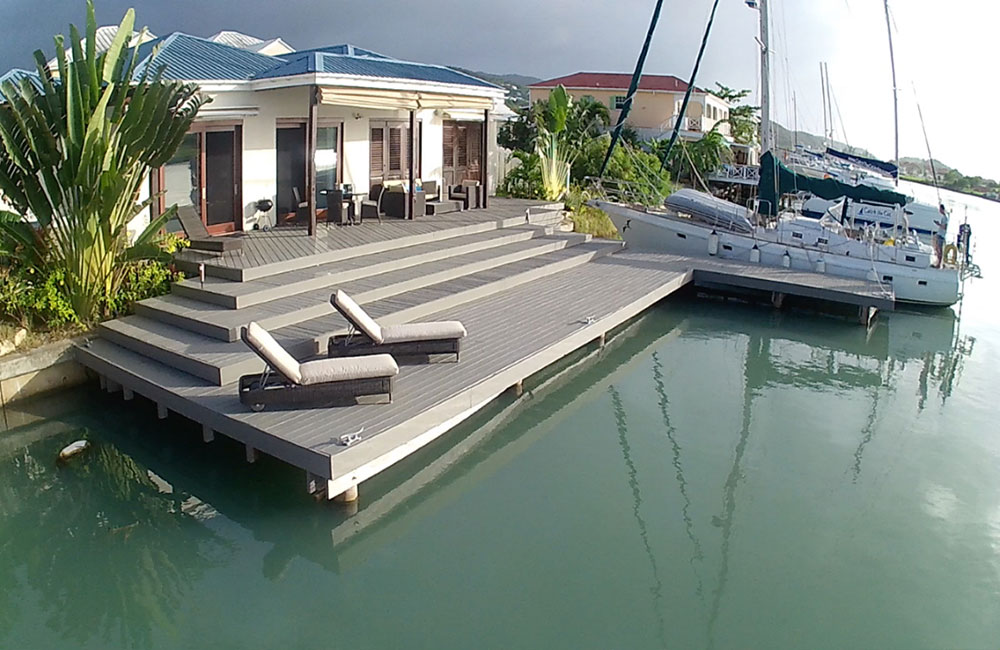 3-Bed Villa With Mooring In Jolly Harbour for sale - Antigua and Barbuda