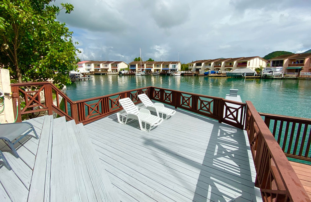 jolly harbour 3-bed marina villa in Antigua for sale