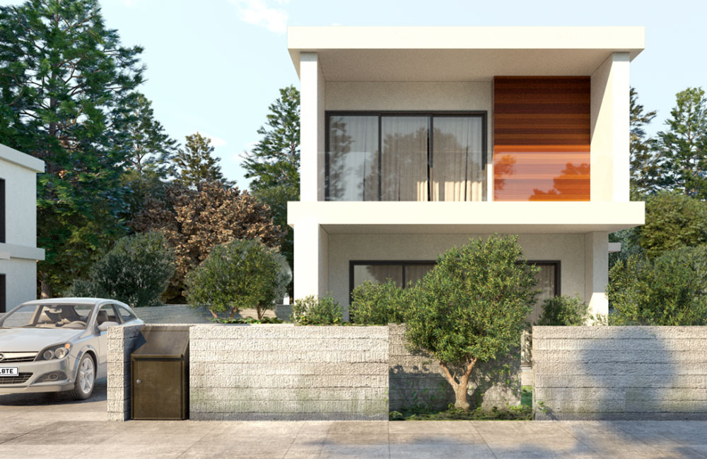 luxury 3-bed villas in Konia - Cyprus