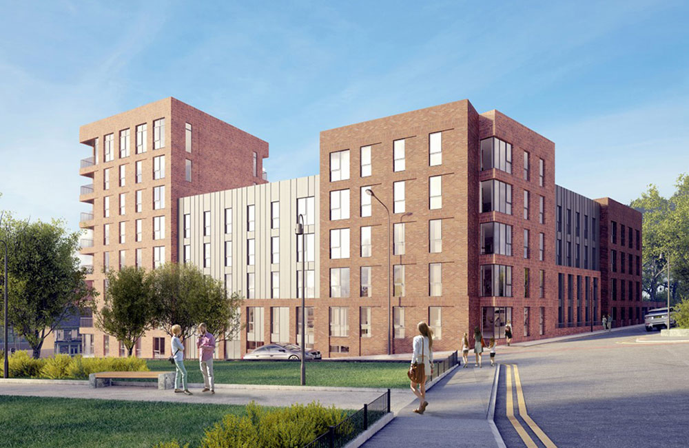 residential property investment in Sheffield