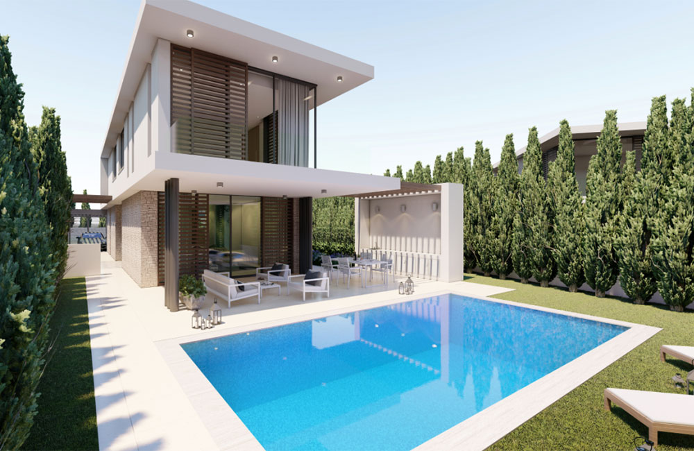 villa investment - Paphos - cyprus citizenship by investment
