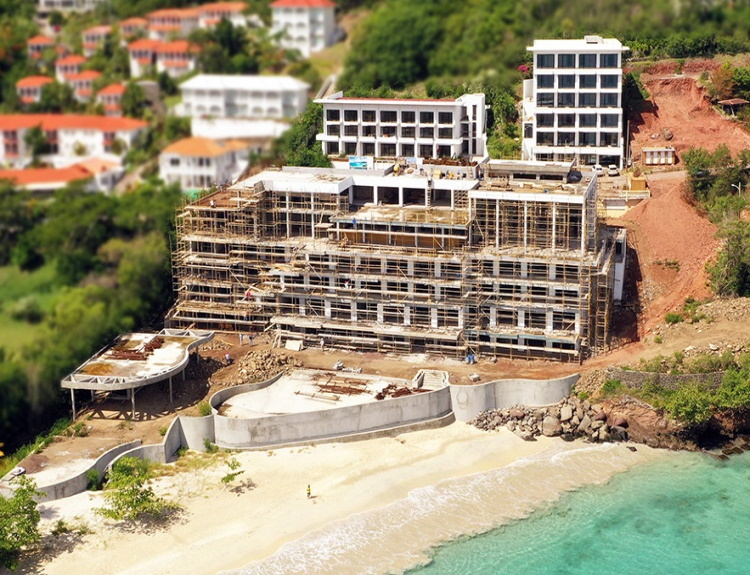 Kimpton Kawana Bay recently announced that the project is on schedule and well on its way to completion