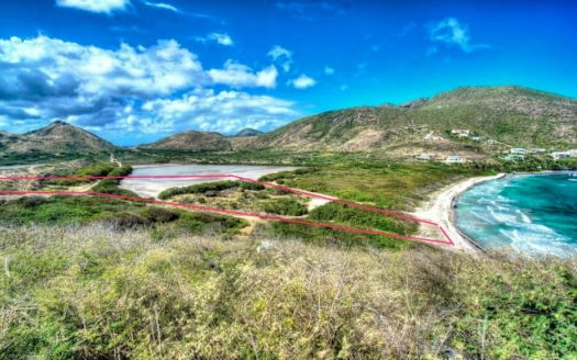 Beach front land for sale in St Kitts