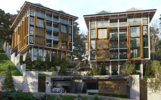 Residential low-rise apartments in Istanbul suitable for the Turkish Citizenship By Investment program.