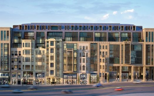 Residential luxury apartments in Istanbul suitable for the Turkish Citizenship By Investment program.