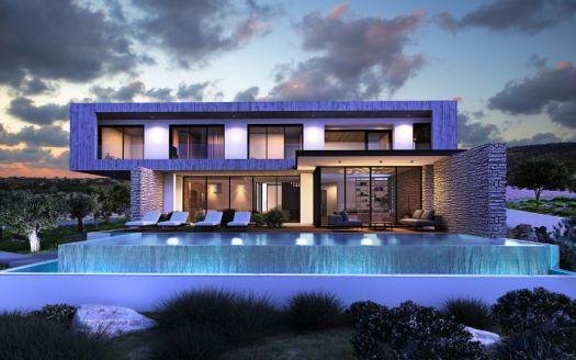 Pearl Sea Caves villa for sale in Paphos