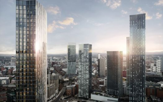 The Blade, Luxury residential property in the City Centre, Manchester.