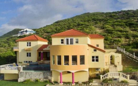 Luxury property for sale in St Kitts, the Caribbean.