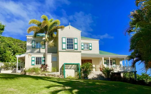 Luxury property for sale in Nevis, St Kitts, the Caribbean.