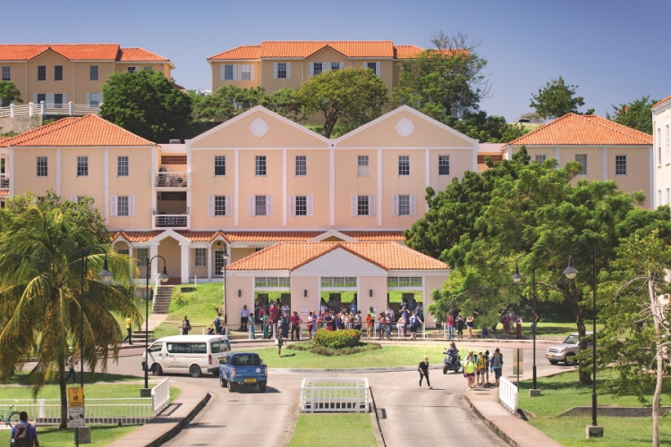 St Georges University, Grenada, the Caribbean.
