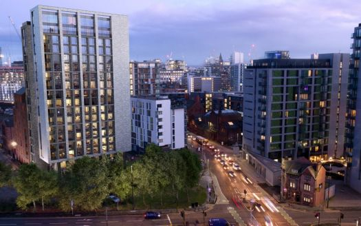 Residential property in Manchester for investment